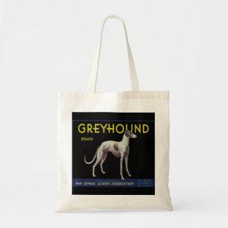 Vintage Greyhound Lemon Label Circa 1920 Budget Tote Bag
