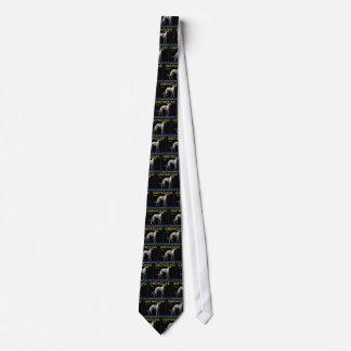 Vintage Greyhound Lemon Label Circa 1920 Tie