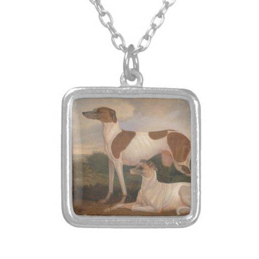 Vintage Greyhounds Pendant