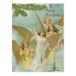 Vintage Group of Christmas Angels Post Cards