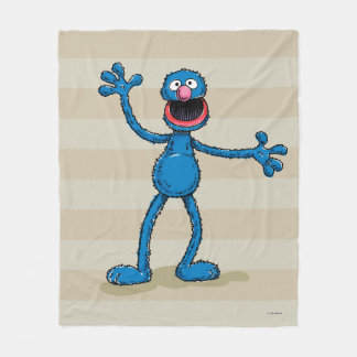 Vintage Grover Fleece Blanket