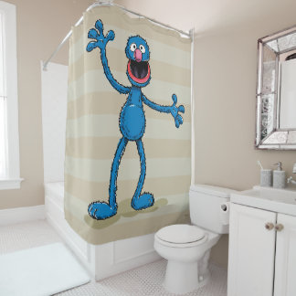 Vintage Grover Shower Curtain