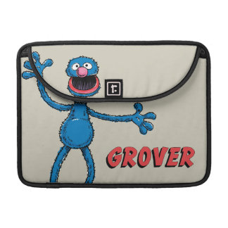 Vintage Grover Sleeve For MacBooks
