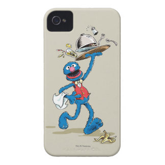 Vintage Grover the Waiter Case-Mate iPhone 4 Cases
