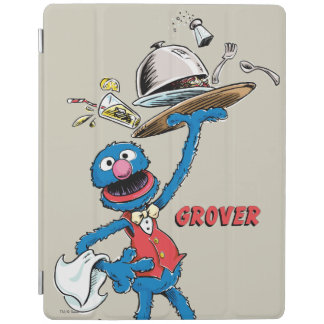 Vintage Grover the Waiter iPad Cover