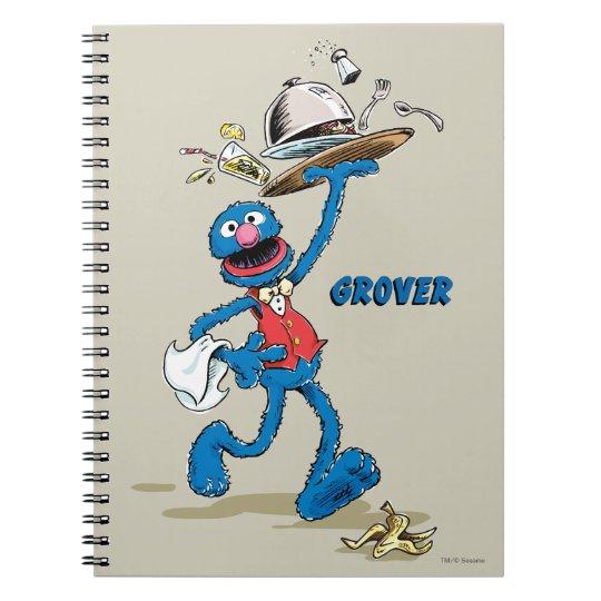 Vintage Grover the Waiter Notebooks