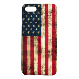 Vintage Grunge American Flag iPhone 7 Case