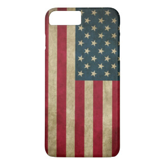 Vintage Grunge American Flag iPhone 8 Plus/7 Plus Case