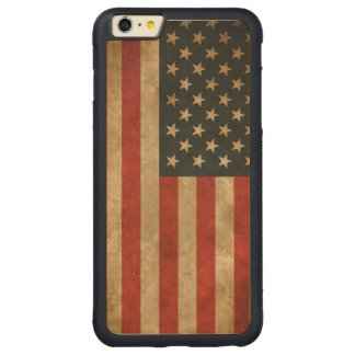 Vintage Grunge American Flag - USA Patriotic iPhone 6 Plus Case