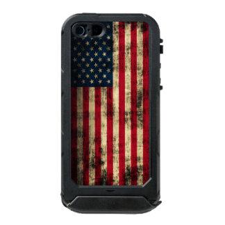 Vintage Grunge American Flag Incipio ATLAS ID™ iPhone 5 Case
