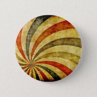 Vintage Grunge Background as Carnival Circus 6 Cm Round Badge