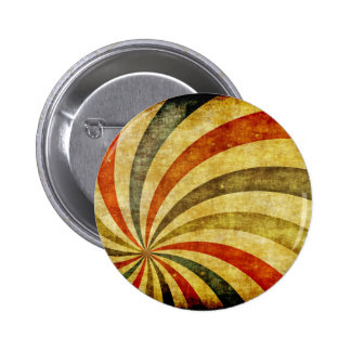 Vintage Grunge Background as Carnival Circus 6 Cm Round Badge