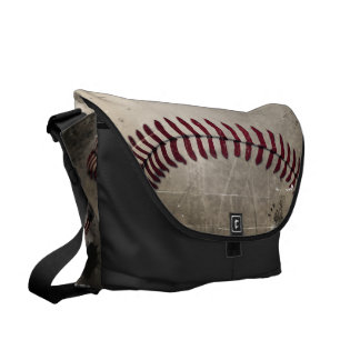 Vintage Grunge Baseball Commuter Bags