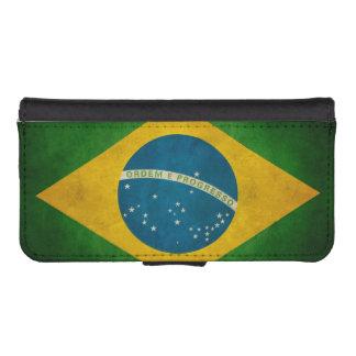 Vintage Grunge Brazil Flag Bandeira do Brasil