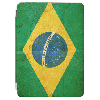 Vintage Grunge Brazil Flag iPad Air Cover