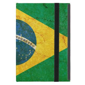 Vintage Grunge Brazil Flag iPad Mini Case