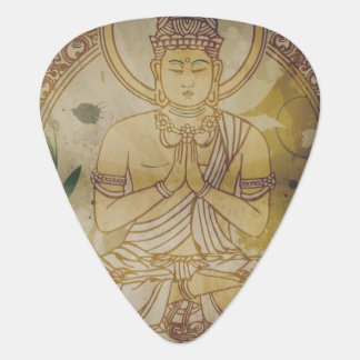Vintage Grunge Buddha Plectrum