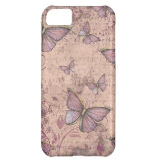 Vintage Grunge Butterflies iPhone Case