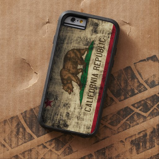 Vintage Grunge California Flag iPhone 6 Case