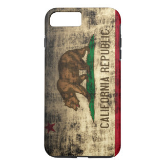 Vintage Grunge California Flag iPhone 7 Plus Case