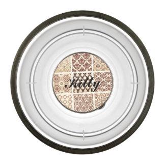Vintage,grunge,damask pattern collage, victorian