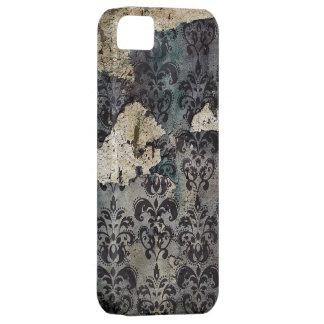 Vintage Grunge Damask Pattern iphone 5 case