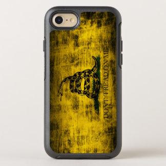 Vintage Grunge Don't Tread On Me Flag OtterBox Symmetry iPhone 8/7 Case