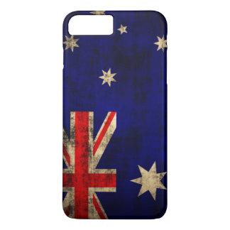 Vintage Grunge Flag of Australia iPhone 7 Plus Case