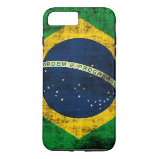 Vintage Grunge Flag of Brazil iPhone 7 Plus Case