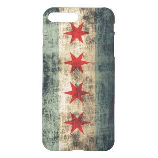 Vintage Grunge Flag of Chicago iPhone 8 Plus/7 Plus Case