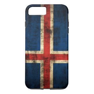 Vintage Grunge Flag of Iceland iPhone 7 Plus Case