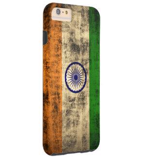Vintage Grunge Flag of India iPhone 6 Plus Case