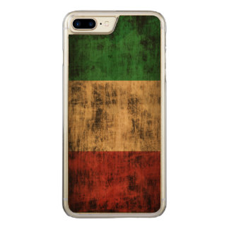 Vintage Grunge Flag of Italy Carved iPhone 8 Plus/7 Plus Case
