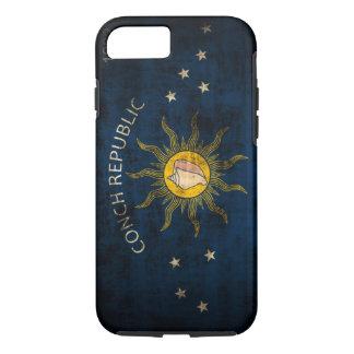 Vintage Grunge Flag of Key West Florida iPhone 8/7 Case