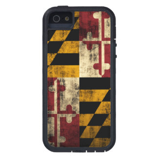 Vintage Grunge Flag of Maryland Case For The iPhone 5
