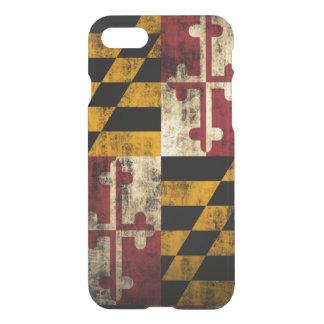 Vintage Grunge Flag of Maryland iPhone 7 Case