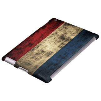 Vintage Grunge Flag of Netherlands iPad Case