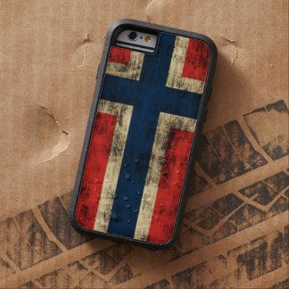 Vintage Grunge Flag of Norway Tough Xtreme iPhone 6 Case
