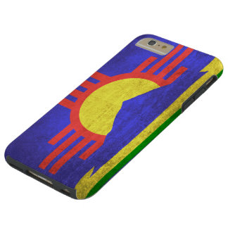 Vintage Grunge Flag of Roswell New Mexico Tough iPhone 6 Plus Case