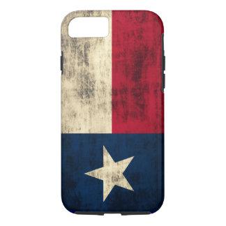 Vintage Grunge Flag of Texas iPhone 7 Case