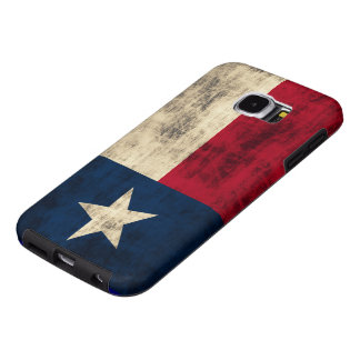 Vintage Grunge Flag of Texas Samsung Galaxy S6 Cases