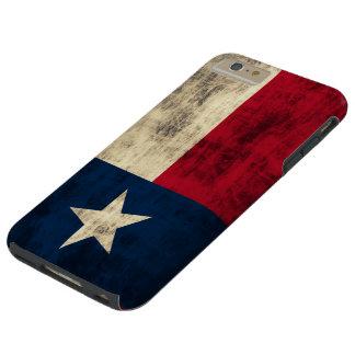 Vintage Grunge Flag of Texas Tough iPhone 6 Plus Case