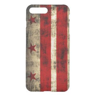 Vintage Grunge Flag of Washington D.C. iPhone 7 Plus Case