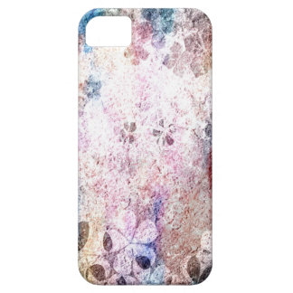 Vintage grunge floral pattern 2 iPhone 5 covers