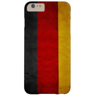 Vintage Grunge Germany Flag Barely There iPhone 6 Plus Case
