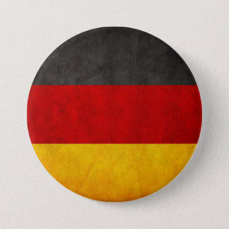 Vintage Grunge Germany Flag Deutschland Flag 7.5 Cm Round Badge