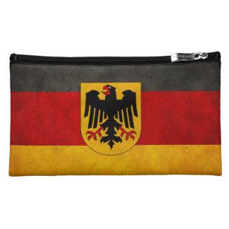 Vintage Grunge Germany Flag Deutschland Flag Cosmetic Bag