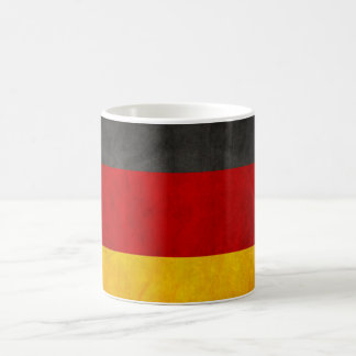 Vintage Grunge Germany Flag Deutschland Flag Coffee Mug