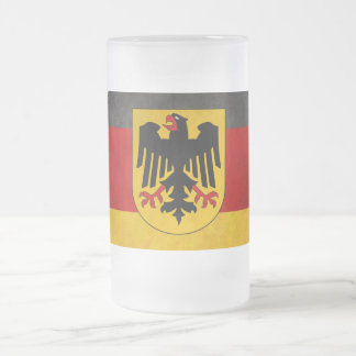 Vintage Grunge Germany Flag Deutschland Flag Mug