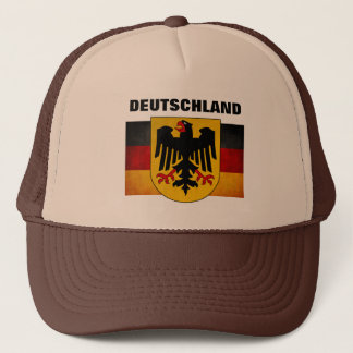 Vintage Grunge Germany Flag Deutschland Flag Trucker Hat
